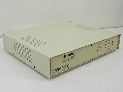 Cabletron Ethernet/IEEE 802.3 Repeater Unit LR-2000