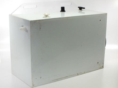 "Plastic / Poly Custom Hanging Clean Room Positive-Pressure Enclosure 27x11.5x18"""