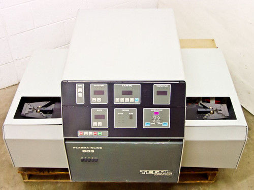 Tegal 803 Inline Automatic Wafer RF Plasma Etcher Untested As Is