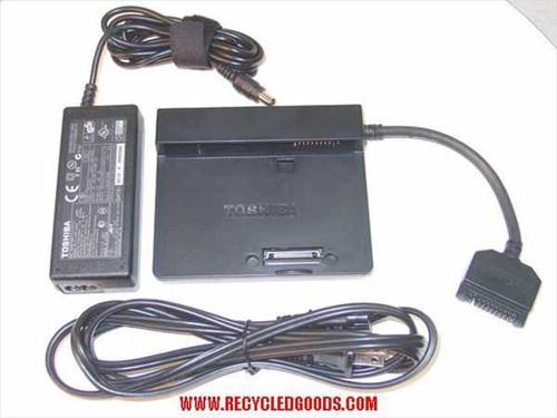 Toshiba PA3156U Charge Cable & AC Adapter for Slim Port Replicator