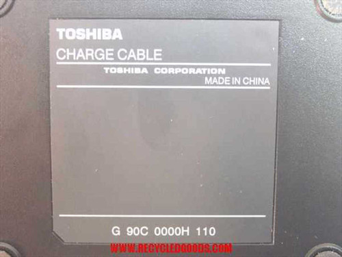 Toshiba Slim Port Replicator Charge Cable & AC Adapter (PA3156U)