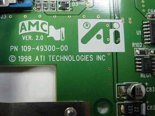 ATI Technologies AGP Video Card Rage IIC 4MB (109-49300-00)