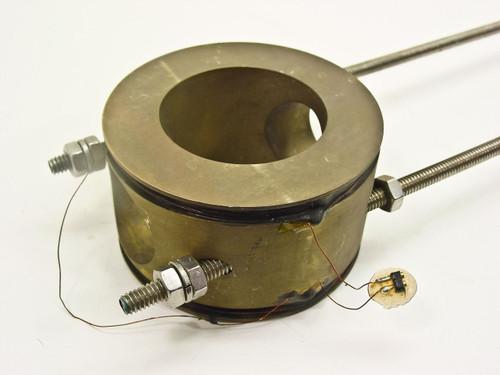 """Vacuum  38""""  264 Gauss per Amp Coil w/ BNC Connector"""