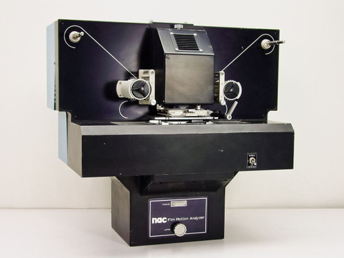 NAC 6H133-37 PH-701 Film Motion Analyzer 70mm w/ Fuji 300mm Lens