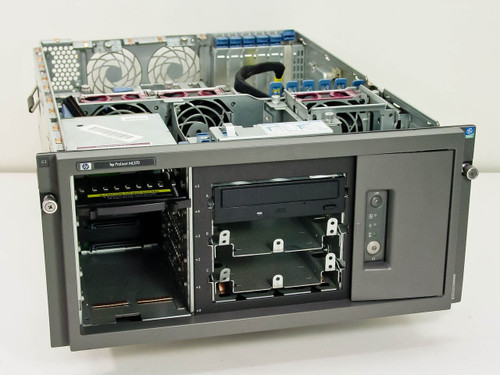 HP ML370 533MHz Compaq Proliant Server with CD-R Drive - Missing Parts - As Is