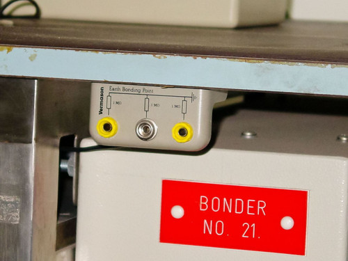 HyBond Ultrasonic Peg Bonder, X,Y Linear Stage 616-12 As Is