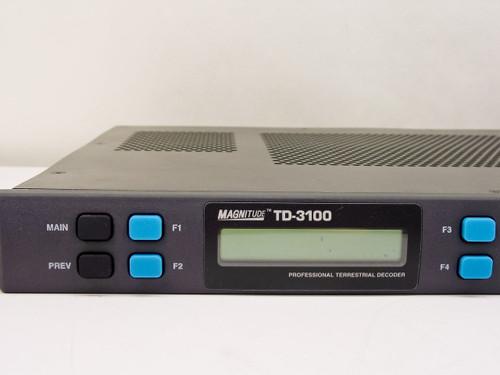 General Instrument Magnitude Professional Terrestrial Decoder TD-3100 - AS IS