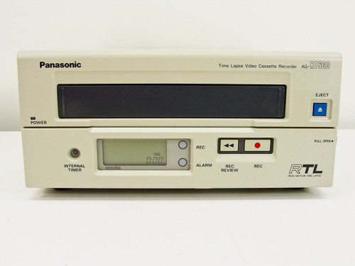 Panasonic AG-RT600  Time Lapse Video Cassette Recorder AS-IS Power on Only
