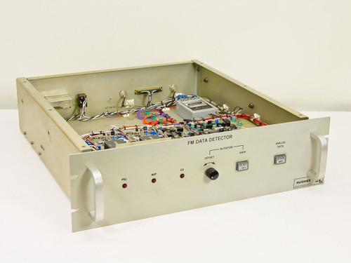 Hughes FM data detector 3814120-100-a - AS IS
