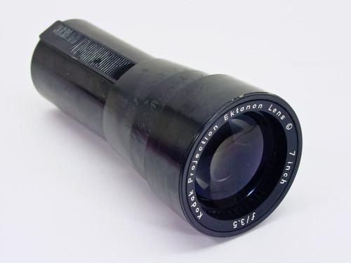 """Kodak 7"""" F/3.5 Ektanon Projection / Projector / Carousel Lens"""