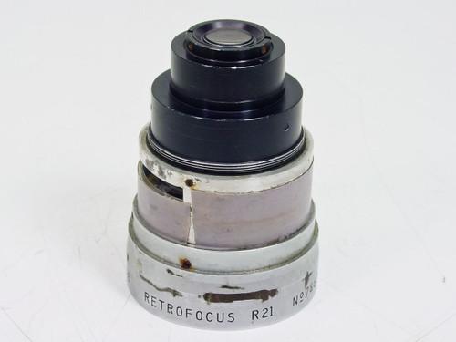 P Angenieux Parts Retrofocus R21 Lens F.10 1:1,8 - AS IS