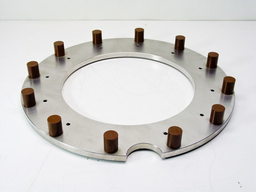 """Stainless Steel Vacuum Flange OD: 18.5"""" ID: 11.75"""""""