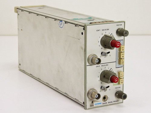 Tektronix 5A38 Dual Trace 35MHz Dual-Channel Vertical Plug-In for 5400 Series
