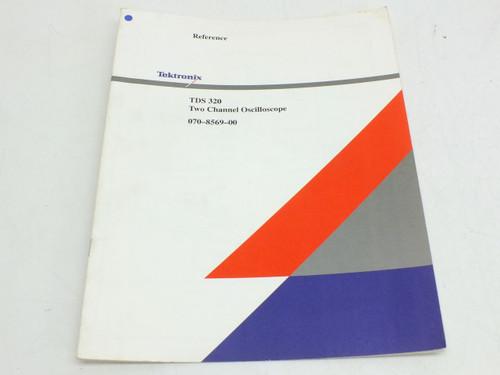 Tektronix Instruction Manual TDS320