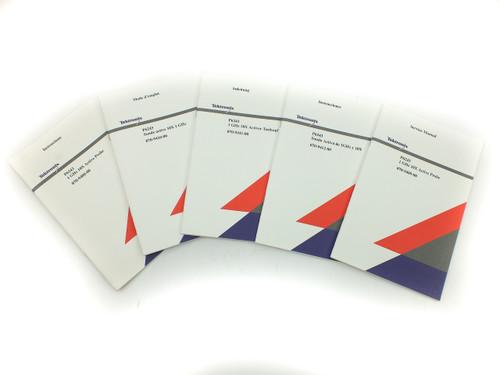 Tektronix 070-9408-00 P6243 1GHz 10X Active Probe Instruction + Service Manual