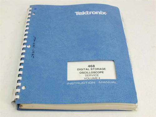 Tektronix 070-3516-00 468 Digital Storage Oscilloscope Service Manual Volume II