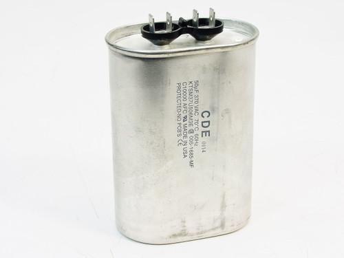 CDE 0114 50uf 370vac KTSM37U506M3E Capacitor
