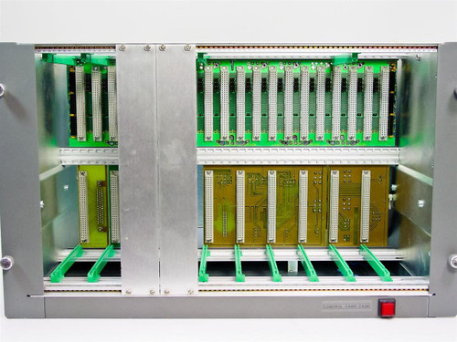 "Unbranded Generic 20-Slot Control Card Cage - 19"" Rackmount - As Is"