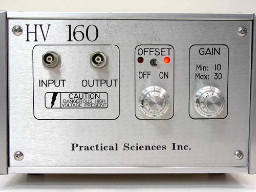 Practical Sciences Amplifier HV 160 - AS IS