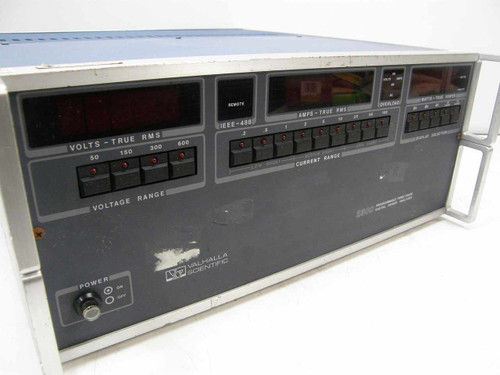 Valhalla Scientific 2300 Programmable 3-Phase Digital Power Analyzer - As Is