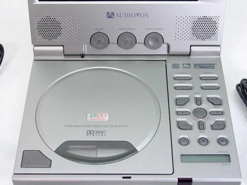 Audiovox Portable DVD/VCD/CD Player D1700