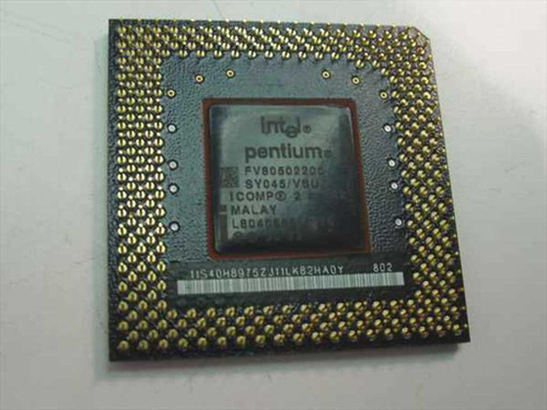 Intel P200Mhz Processor FV80502200 (SY045)