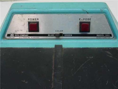 X-Rite 303  Sensitometer