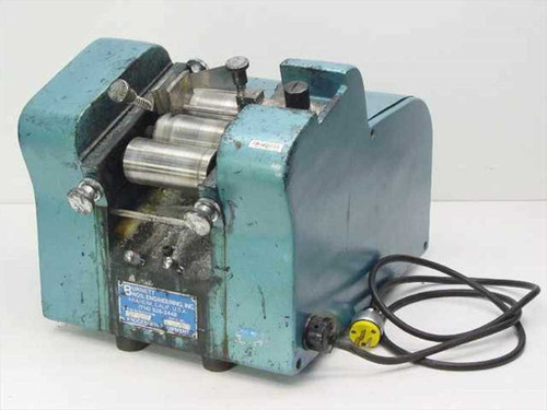 Burnett Bros Engineering Blue Industrial Processing Labeler 115 Volts - AS IS