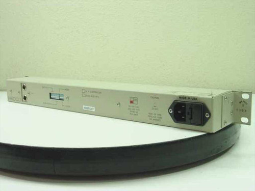 Hedco/Leitch Dual-Bus X-Y Controller, Video Switch Box 16 x 8