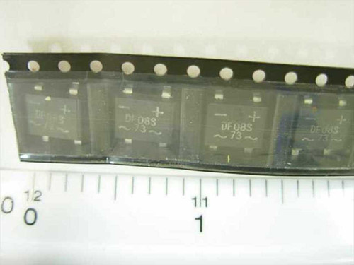 ON Semiconductor DF08S Bridge Rectifier 800 V 1.5 A - Set of QTY=10 Units