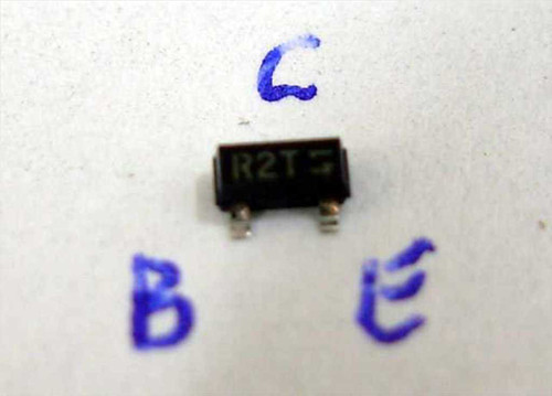"""Fairchild Transistor PNP in a SOT-23 package ID """"R2T"""" MMBT2222A"""