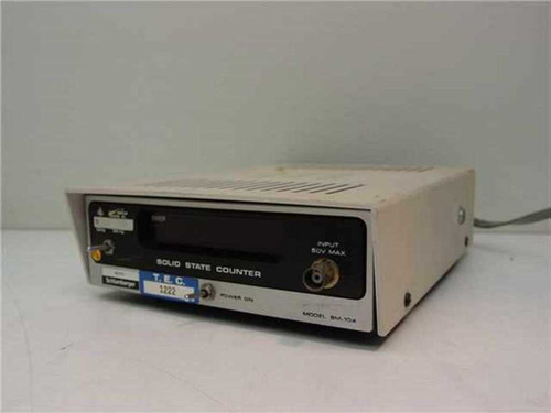 Heath Schlumberger SM-105A / SM-104A  Solid State Counter - AS IS