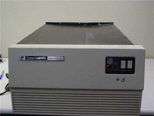 System Industries Hard Drive in Rackmount Enclosure 470 Megabyte - AS IS