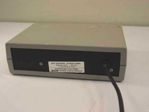 Continental Specialties Corporation 5001 Universal Counter-Timer As Is No Power