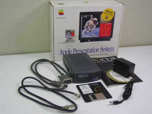 Focus Enhancements M2895LL/A Apple Presentation System 15-Pin DB15 RCA S-Video