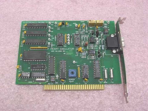 Telectronics Pacing Systems Heart Simulator Card 8 Bit ISA 190-6599