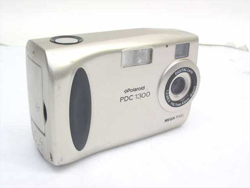 Polaroid PDC-1300 Digital Camera 1.3 Megapixel 2x Zoom w/8 MB Card - As Is