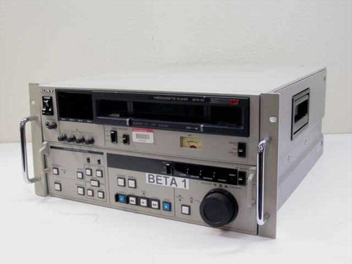 Sony BVW-65 BetaCam Videocassette Player - Unable to Test - As Is / For Parts