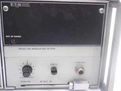 Eaton 380 K11 Synthesized Signal Generator - 380K11 - As Is / For Parts