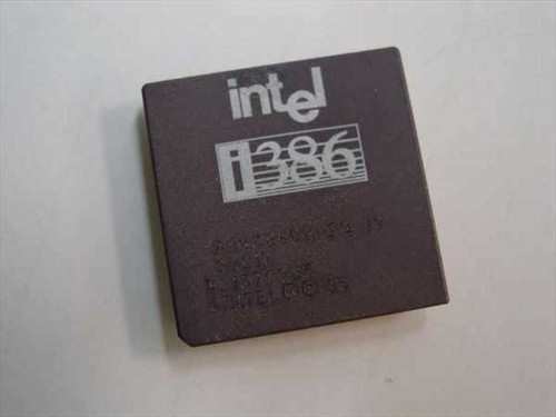 Intel 386DX-20 Mhz CPU A80386DX-20 (SX217)