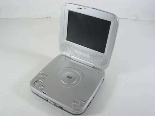 "Initial IDM-9530 5"" Portable DVD Player - Non-Working - As Is / For Parts"