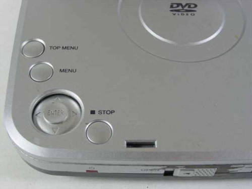 "Initial 5"" Portable DVD Player - As Is IDM-9530"
