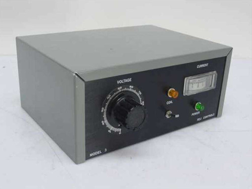 RJD Controls Model 3 Variac Voltage - Timer Control 115VAC - AS IS