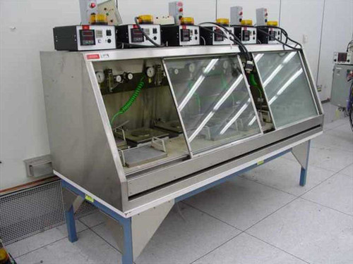 Watlow AFP Omron CB-II 942 H5CR-B  Six 3000W Hot Plate Temperature Time Flow ~!