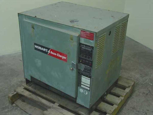 Hobart Accu-Charger Forklift 12 Volt DC Battery Charger 865C3-6 - AS IS