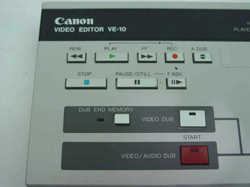 Canon Video Editor VE-10A