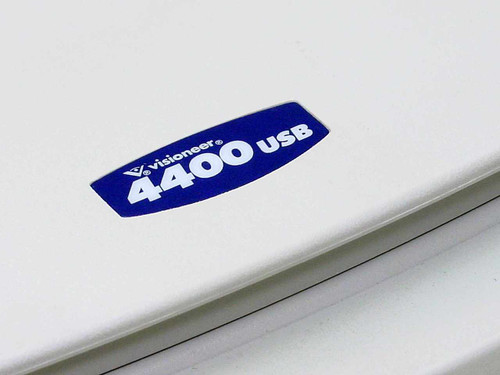 Visioneer USB 4400u Color Flatbed Scanner - No power supply/ FU661E - AS IS