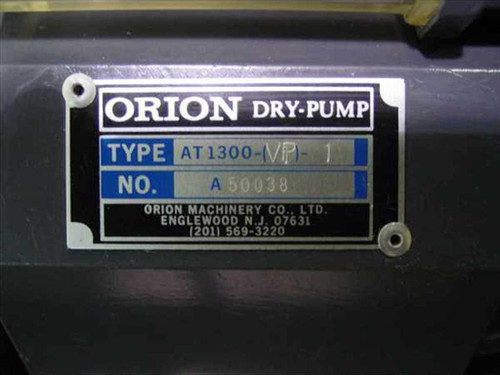 ORION AT1300-VP-1 Dry-Pump Vacuum Pump AS-IS