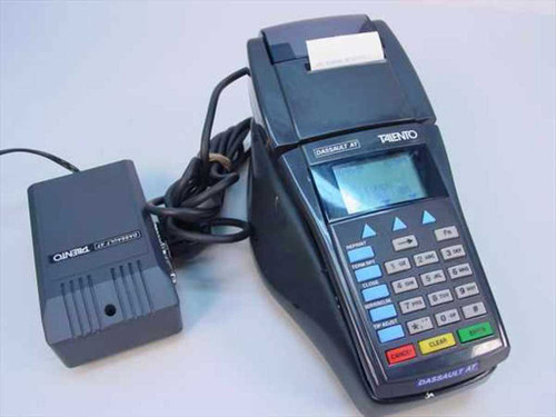 Dassault Talento 2UD Mobile Hand-Held Credit Card Machine T-IPP/2UD - As Is