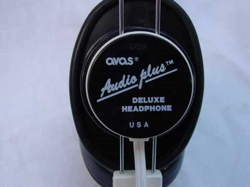 "Avas Deluxe Mono Headphones / Headset 1/8"" Jack with Straight Cable (Audio Plus)"